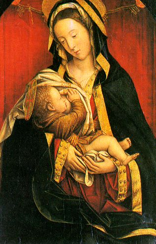 By Defendente Ferrari, Mary and Child