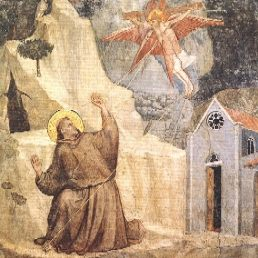 St. Francis receiving the Stigmata, by Giotto